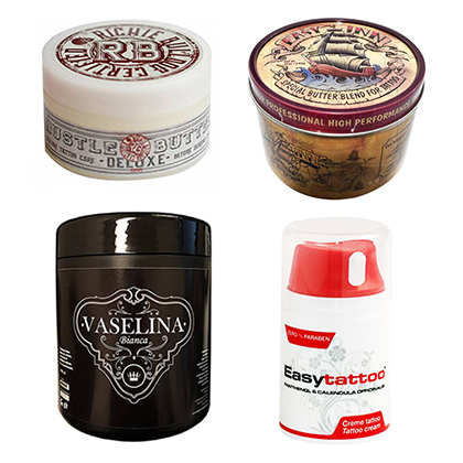Ointments and aftercare products